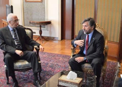 """بعثة """"الجمعية البرلمانية للبحر المتوسط"""" تشيد بتنظيم انتخابات الرئاسة"""