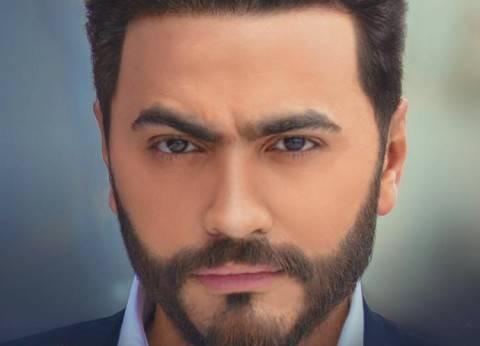 تامر حسنى ينعى والد محمود العسيلي