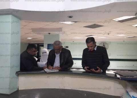 """مدير """"الرعاية العاجلة"""" في الشرقية يتفقد مستشفى بلبيس"""