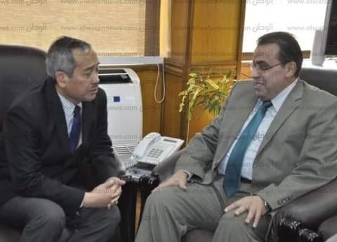 """رئيس جامعة القناة: اتفاقية تعاون مشترك مع """"الشؤون الدينية الإندونيسية"""""""