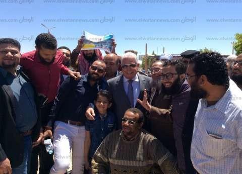 بالصور| حزب النور يحشد أعضائه لتأييد التعديلات الدستورية في جنوب سيناء