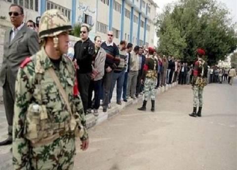 انتشار مكثف لقوات الجيش والشرطة أمام مدرسة أم الأبطال بالطالبية