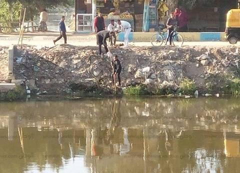 العثور على جثة رجل مجهولة في مياه بحر إبجيج بالفيوم
