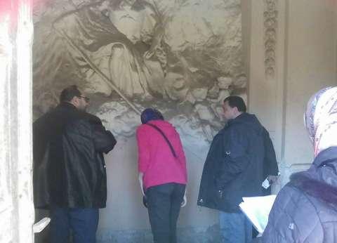 زيارة رئيس قطاع الآثار الإسلامية والقبطية للإسكندرية