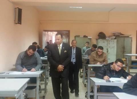 رئيس جامعة المنوفية: إحالة 135 غشاشا بالامتحانات للشؤون القانونية