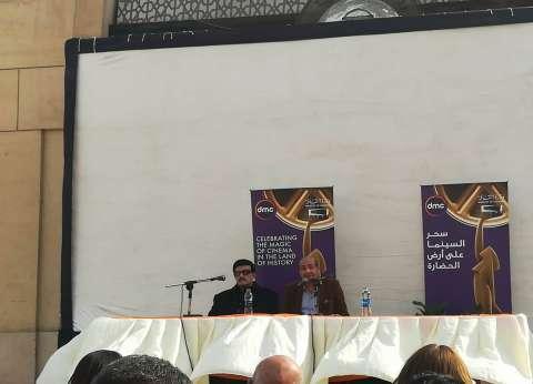 """سمير غانم في ندوة تكريمه: """"أنا مسرحي بالدرجة الأولى"""""""