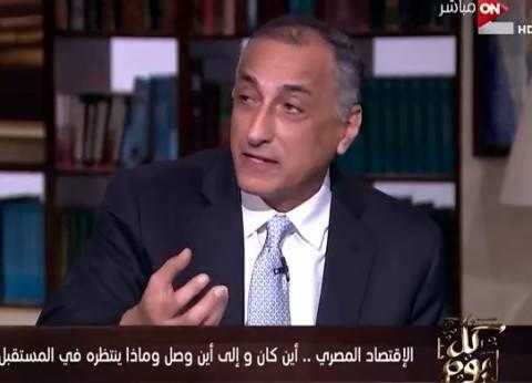 """طارق عامر: """"الاحتياطي زاد بدرجة أكبر من القروض"""""""