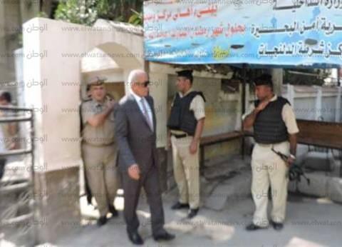 مدير أمن البحيرة يتفقد مركز شرطة الدلنجات ويوجه بحسن معاملة المواطنين