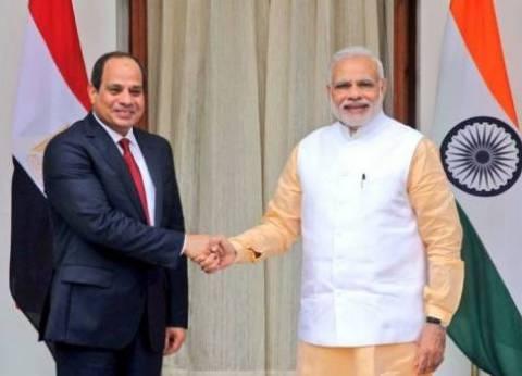 السيسي يلتقي رئيس وزراء الهند على هامش «بريكس»