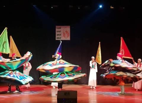 بالصور| أوبرا عربي والزفة الإسكندارني يشعلان مسرح طنطا