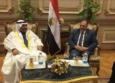 القصبي لملك البحرين: أمن الخليج جزء لا يتجزأ من أمننا القومي