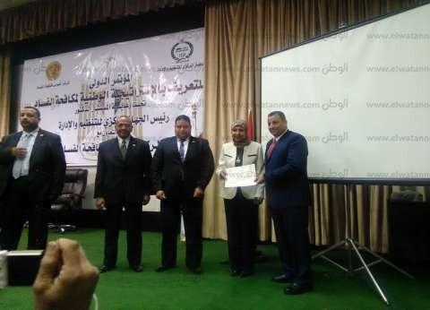 """""""القومي لمكافحة الفساد"""" يكرم رئيس قطاع الآثار الإسلامية والقبطية سابقا"""