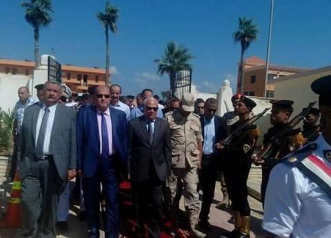محافظ بورسعيد يهنئ السيسي والجيش وشعب مصر بذكرى انتصارات أكتوبر