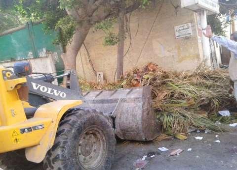 رفع 80 طن مخلفات من مناطق وسط الإسكندرية