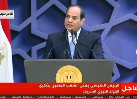 عاجل.. السيسي يصل دمياط لافتتاح مشروعات قومية