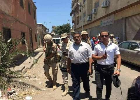 محافظ بورسعيد يشيد بجهود الأجهزة التنفيذية والأمنية بإزالة العشوائيات