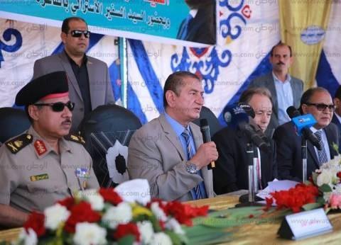 """محافظ كفر الشيخ: عام الإخوان كان """"الأسود"""" على مصر.. والسيسي أنقذها"""