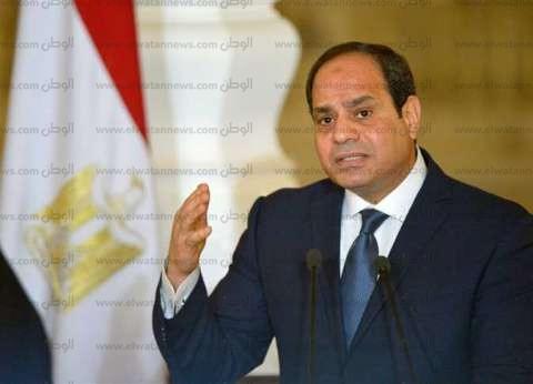 السيسي: يجب أن يقف العرب والأوروبيون صفا واحدا للقضاء على الإرهاب