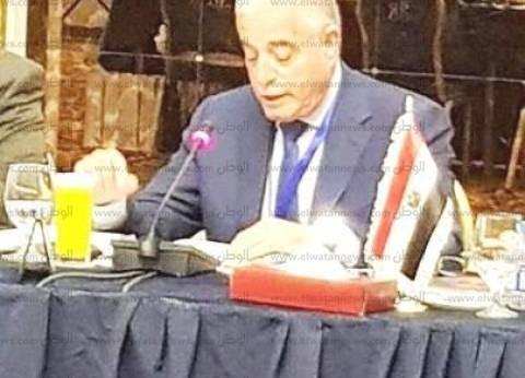 بالصور  منتدى الفكر العربي بالأردن يستضيف محافظ جنوب سيناء