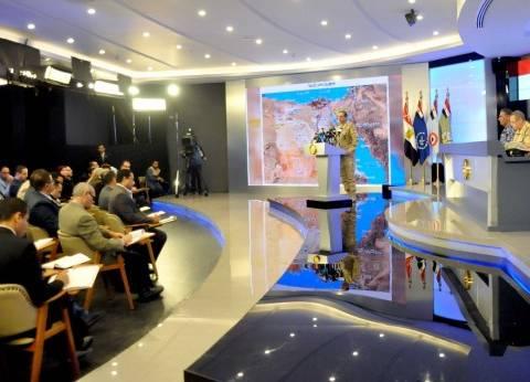 الرفاعي: العمليات العسكرية في سيناء أول مرحلة من خطة المجابهة الشاملة