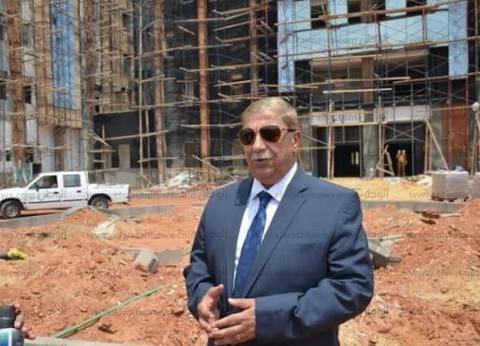 محافظ الإسماعيلية: تجهيز مستشفى أبوخليفة للافتتاح قبل نهاية 2018