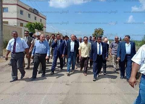 وزير الري يتابع العمل بمحطات الرفع وشبكات الترع والمصارف قبل السيول