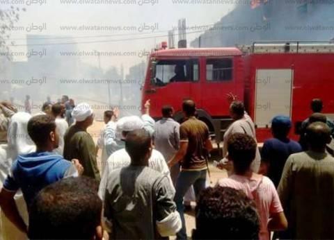 إخماد حريق التهم محتويات شقة في «الهرم»