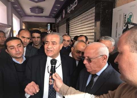 وزير التموين ينعى ضحايا حريق قطار محطة مصر
