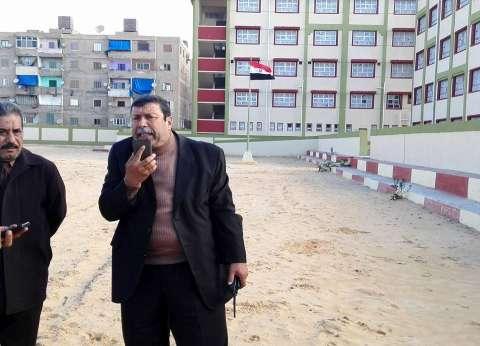 وكيل تعليم الإسكندرية يتفقد 3 مدارس جديدة استعدادا لافتتاحهم