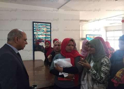 بالصور| رئيس جامعة كفر الشيخ يوجه بإضافة صالات مذاكرة بالمدن الجامعية