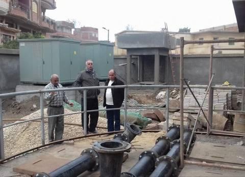 رئيس سمنود يتفقد أسواق المعارض ومشروعات الصرف الصحي لخدمة أهالي القرى