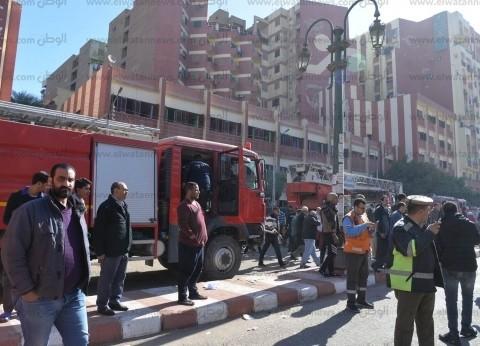"""""""صحة الشرقية"""": إصابة 10 أشخاص في حريق منزل الإبراهيمية"""
