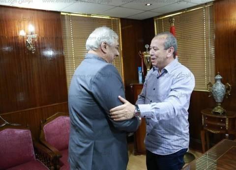 محافظ كفر الشيخ يستقبل رئيس مدينة دسوق الجديد