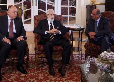 وزير الخارجية: «اتفاق الصخيرات» الحل الأمثل للوضع الليبى الراهن