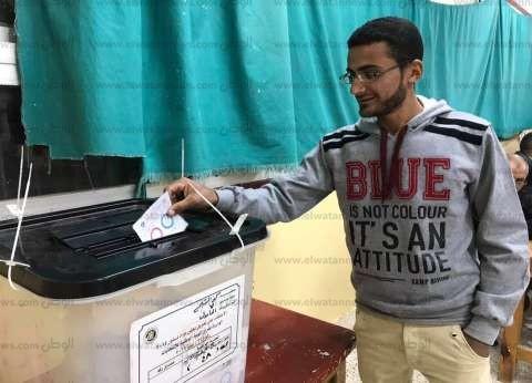 """شباب بكفر الشيخ يشاركون في الاستفتاء: """"الكلمة كلمتنا وبلدنا بتنادينا"""""""
