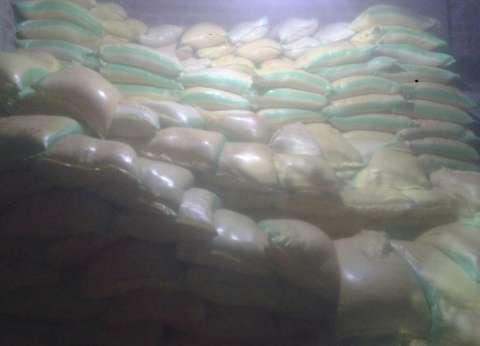 ضبط 4.500 طن أرز ودقيق مجهولة المصدر في الشرقية