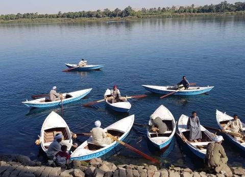 توقف حركة الصيد في بحيرة البرلس بسبب سوء الطقس