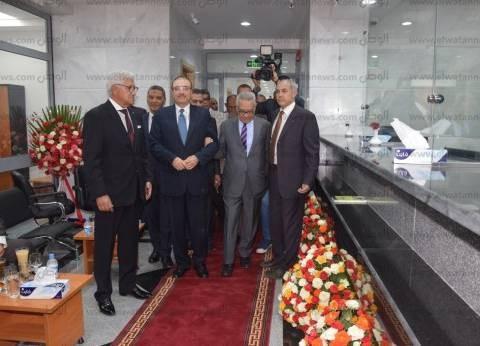محافظ بني سويف يفتتح فرع بنك مصر إيران للتنمية