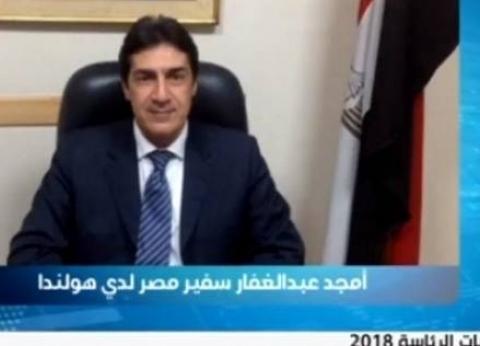"""سفير مصر بهولندا لـ""""الوطن"""": المشاركة في الاستفتاء ستكون كبيرة"""