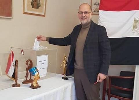 السفارة المصرية في كندا تستقبل المصوتين على التعديلات الدستورية