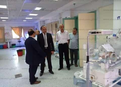 """رئيس """"إيتاي البارود"""" يتفقد المستشفى المركزي في أول أيام العيد"""