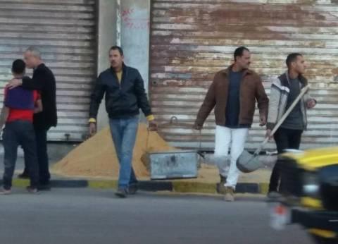 حملة لإيقاف أعمال البناء المخالف بحي المنتزه ثان في الإسكندرية