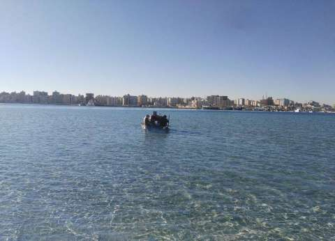 """""""بحوث الشواطئ"""": انتهاء أعمال الرفع البحري بمرسى مطروح"""