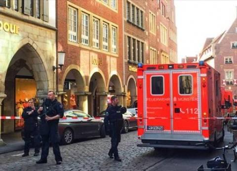ألمانيا: شرطة مونستر تطلب تعزيزات بعد حادث دهس