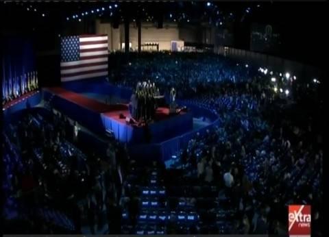 بالفيديو| قاعة ماكورميك تستعد لاستقبال أوباما لإلقاء خطاب الوداع