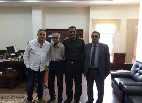 وكيل «صحة دمياط» يبحث سبل التعاون مع المستشفى العسكري