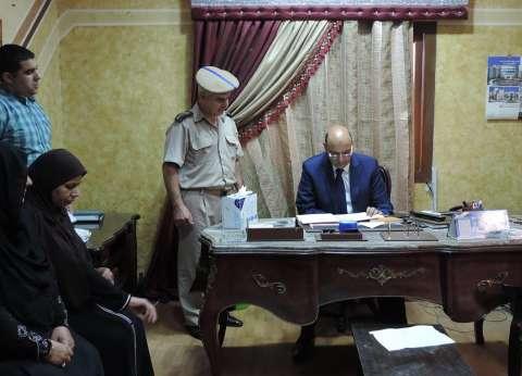 بالصور| مدير أمن دمياط الجديد يتفقد الخدمات الأمنية ويلتقي الضباط والأفراد