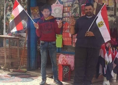 """""""أغاني وطنية وأعلام وورود"""".. أهالي الإسماعيلية يستعدون لنهائي إفريقيا"""