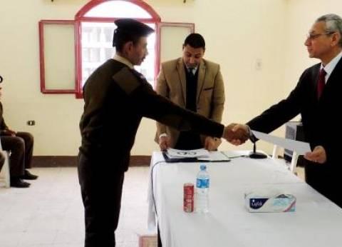 مدير أمن المنيا يكرم المتميزين من مباحث الشرطة في عيدهم