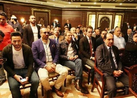بالصور| نجوم الفن والإعلام والمشاهير في عقد قران نجل مجدي الجلاد